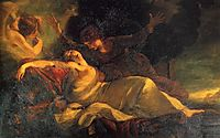 The Death of Dido, 1781, reynolds
