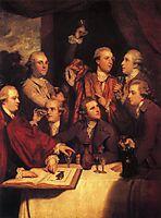The Dilettanti Society, 1778, reynolds