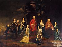 The Eliot Family, c.1746, reynolds