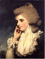 Frances, Countess of Lincoln, c.1782, reynolds