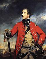 General John Burgoyne, c.1766, reynolds