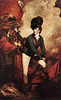 General Sir Banastre Tarleton, 1782, reynolds