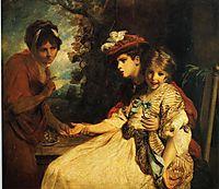 The Gypsy Fortune Teller, 1778, reynolds