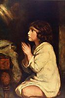 The Infant Samuel at Prayer , reynolds