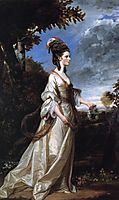 Jane, Countess of Harrington, 1775, reynolds
