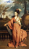 Jane Fleming, later Countess of Harrington, 1779, reynolds