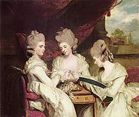 The Ladies Waldegrave, 1780, reynolds