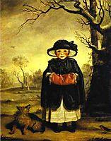 Lady Caroline Scott as Winter, 1776, reynolds
