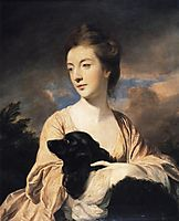 Lady Charles Spencer, 1766, reynolds