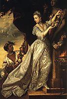 Lady Elizabeth Keppel, 1761, reynolds