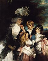 Lady Smith and Children, 1787, reynolds