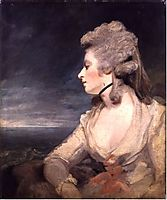 Mrs. Mary Robinson (Perdita) , 1784, reynolds