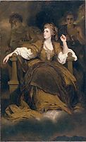 Mrs Siddons as the Tragic Muse, c.1789, reynolds