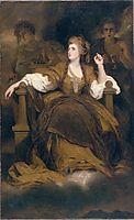 Mrs Siddons as the Tragic Muse, c.1789, reynolds