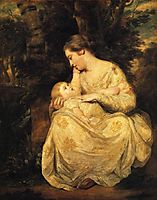 Mrs. Susanna Hoare and Child, 1764, reynolds