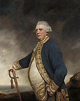 Portrait of Admiral Augustus Keppel, 1779, reynolds