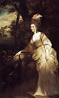 Portrait of Georgiana, Duchess of Devonshire, 1776, reynolds