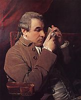 Portrait of Joseph Baretti, 1773, reynolds