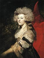 Portrait of Maria Anne Fitzherbert, 1788, reynolds
