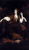 Portrait of Mrs. Siddons as the Tragic Muse, 1784, reynolds