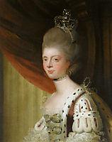 Portrait of Queen Charlotte, reynolds