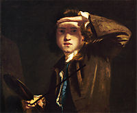 Self-Portrait, c.1749, reynolds