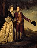 Sir Watkin Williams-Wynn and his Mother , c.1769, reynolds