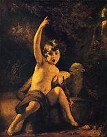 St. John the Baptist in the Wilderness, c.1776, reynolds