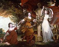 Three Ladies Adorning a Term of Hymen, reynolds