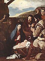 Adoration of the Shepherds, 1650, ribera