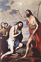Baptism of Jesus, 1643, ribera