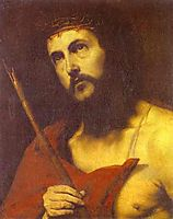 Christ in the Crown of Thorns, ribera