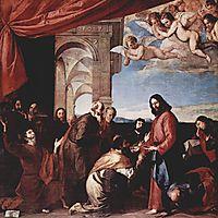 Communion of the Apostles, ribera