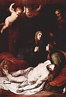 Descent from the Cross , 1637, ribera