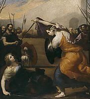 The Duel of Women (The Duel of Isabella de Carazzi and Diambra de Pettinella), 1636, ribera