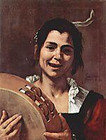 Girl with Tambourine, 1637, ribera