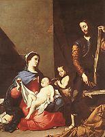 The Holy Family, 1639, ribera