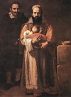 Magdalena Ventura with Her Husband and Son, 1631, ribera