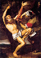 The Martyrdom of St. Bartholomew , ribera