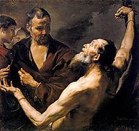 Martyrdom of St. Bartholomew, 1634, ribera
