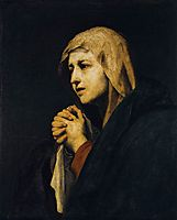 Mater Dolorosa, 1638, ribera