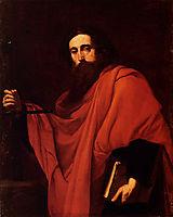 Saint Paul, 1637, ribera
