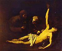 Saint Sebastian Attended by Saint Irene, 1628, ribera