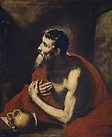 St. Jerome, 1644, ribera