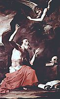 St. Jerome and the Angel of Judgement , 1626, ribera
