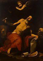 St. Jerome Hears the Last Trumpet, 1626, ribera
