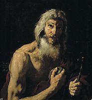 St. Jerome penitente, 1652, ribera
