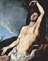 St. Sebastian, 1651, ribera