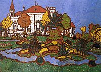 Mansion at Geszt, 1912, ripplronai