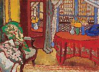 Parisian Interior, 1910, ripplronai